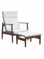 White Oaked Chair Set 156x207