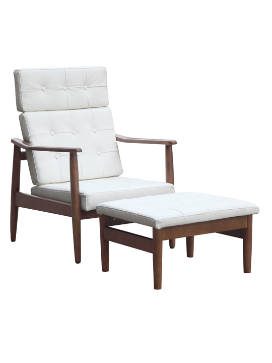 White Oaked Chair Set