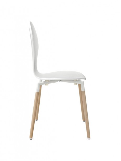 White Ombre Wood Chair 2 461x614