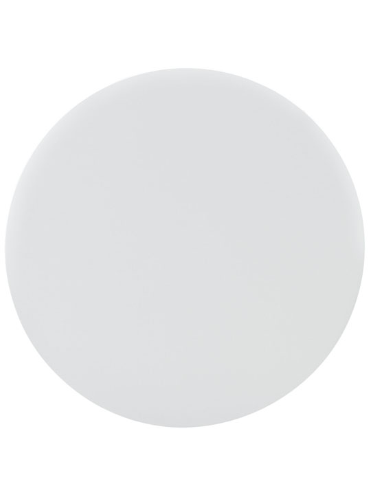White Ombre Wood Circle Dining Table 3