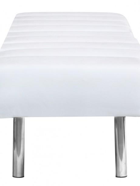 White Paragon 3 Seater Bench 2 461x614