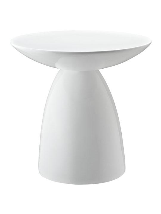 White Pebble Side Table 3