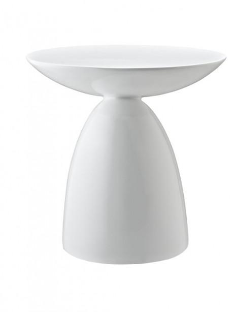 White Pebble Side Table 461x614