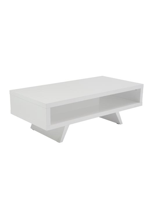 White Retromod Coffee Table 2