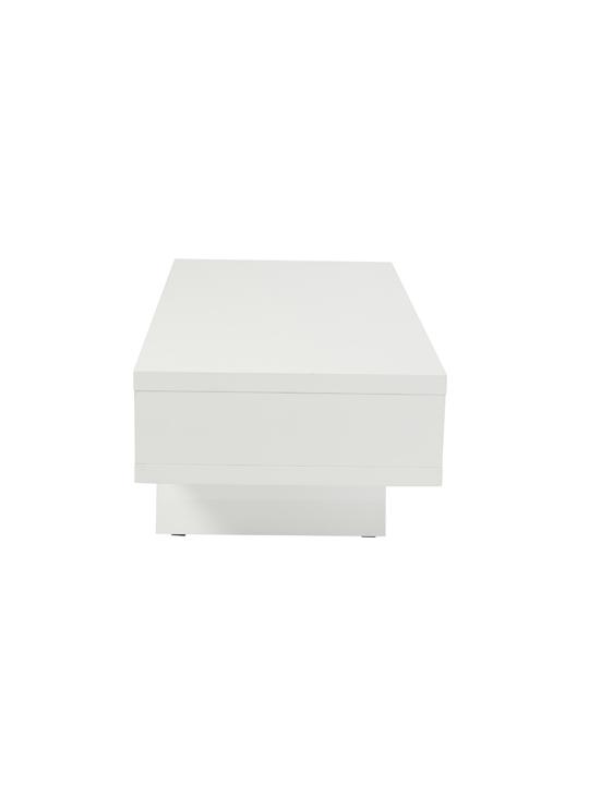 White Retromod Coffee Table 3