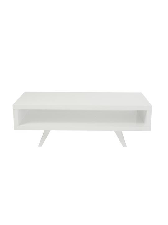 White Retromod Coffee Table