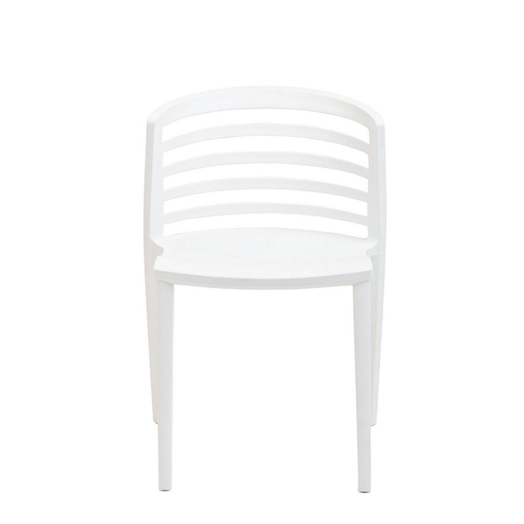 White Skeleton Chair 2