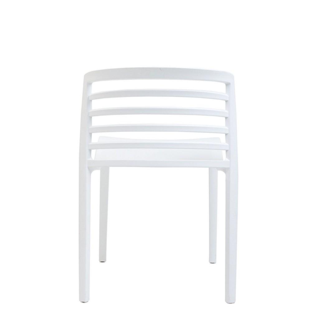 White Skeleton Chair 3