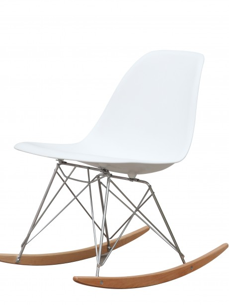 White Solo Rocking Chair 2 461x614