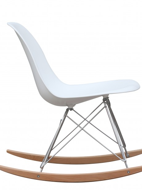 White Solo Rocking Chair 3 461x614