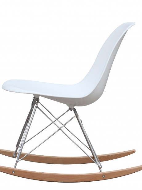 White Solo Rocking Chair 5 461x614
