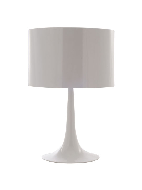 White Top Table Lamp