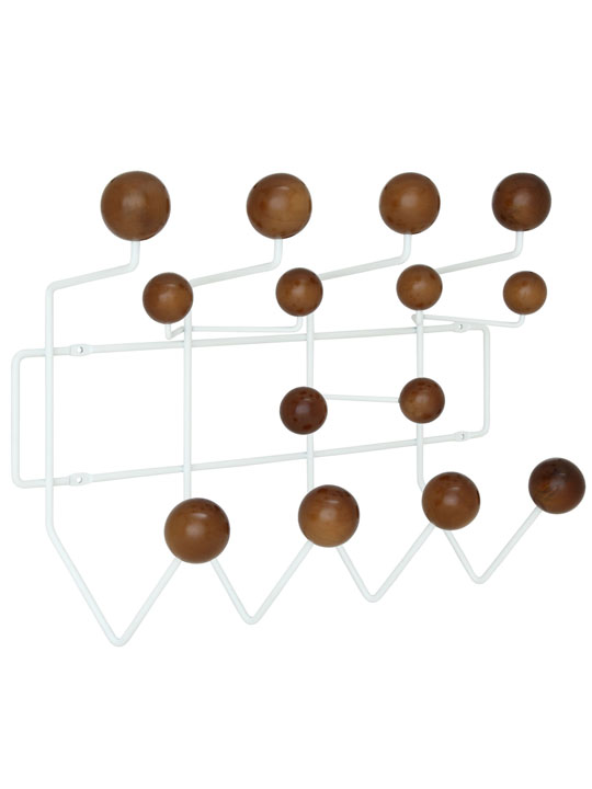 Wood Spot Coat Rack