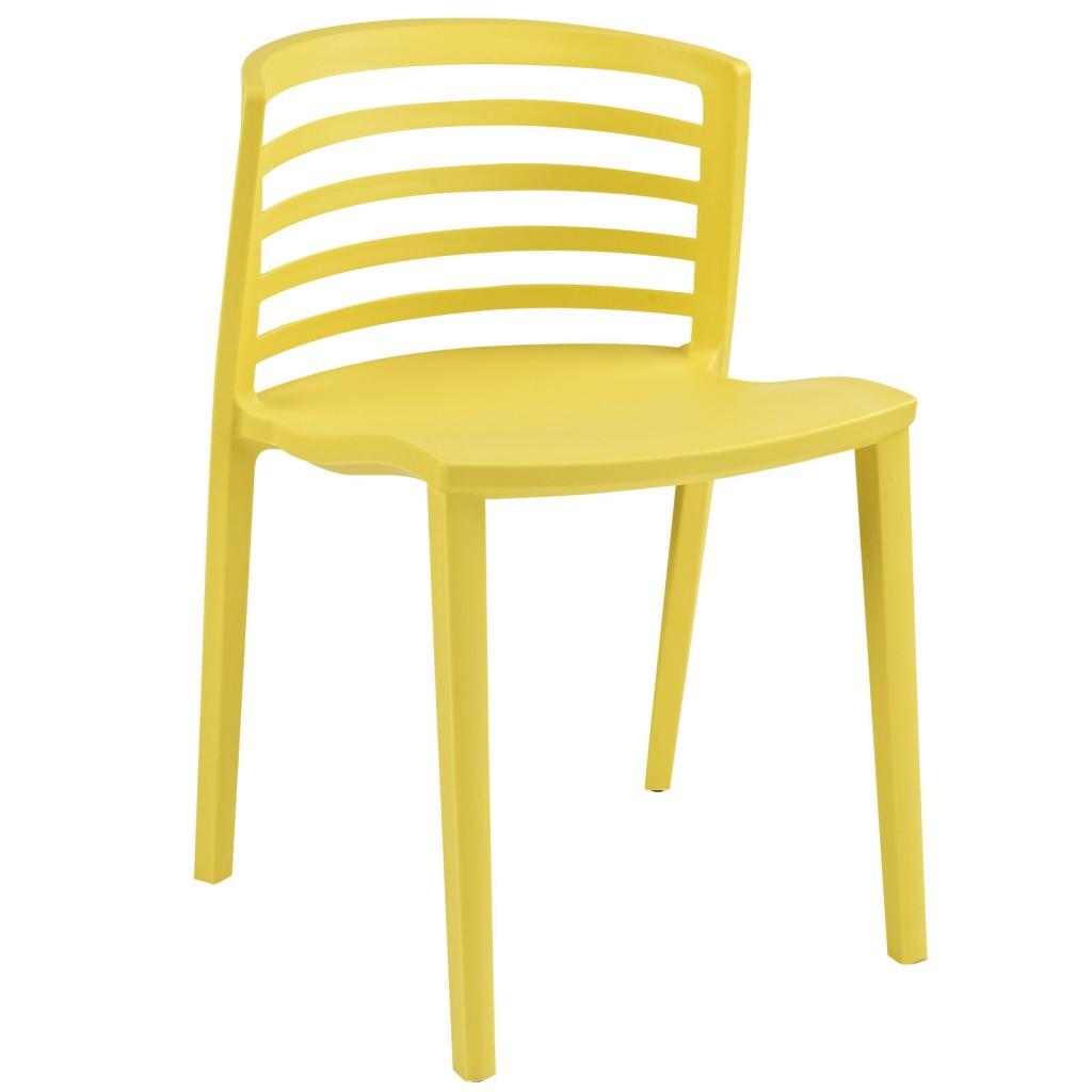 Yellow Skeleton Chair 1