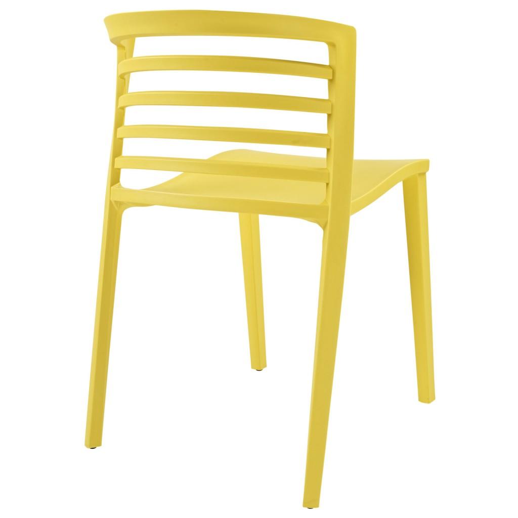 Yellow Skeleton Chair 3
