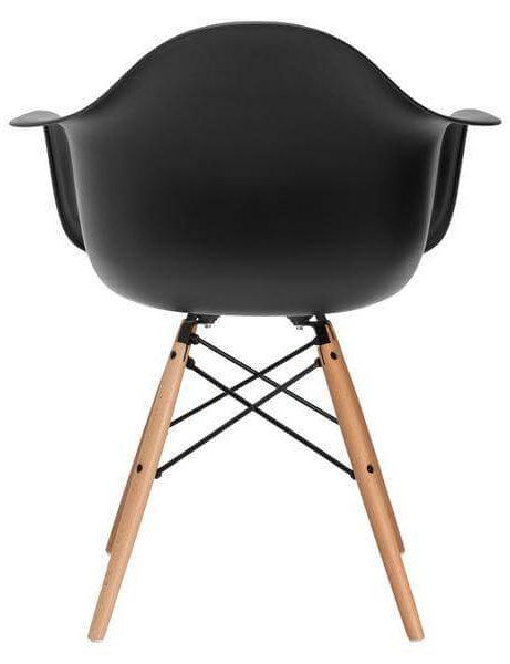 black armchair modern 461x600