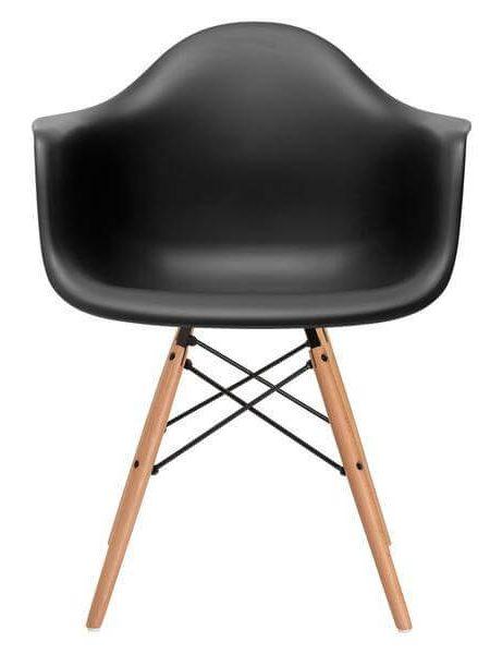 black wood chair 461x600