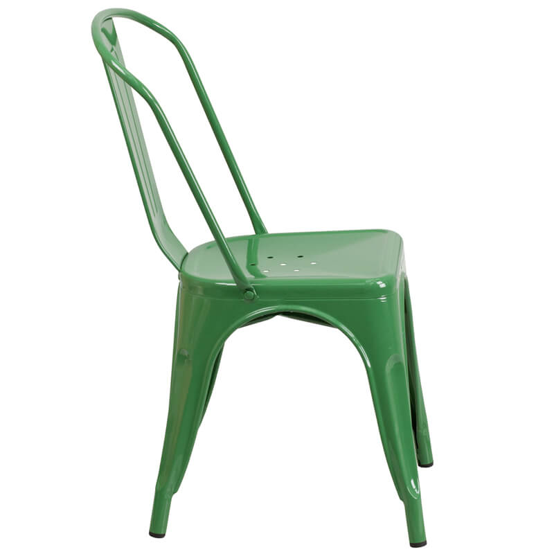 cafe green chair