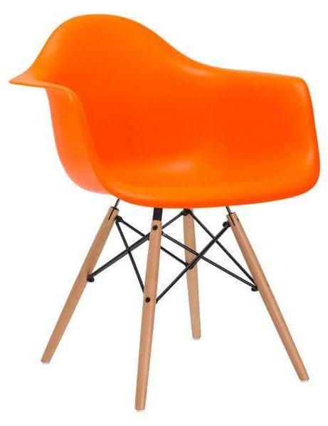 ceremony wood armchair orange 461x600