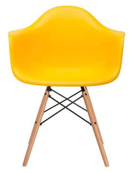 ceremony wood armchair yellow 2 461x600