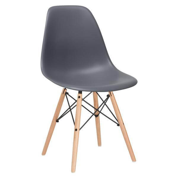 ceremony wood chair grey