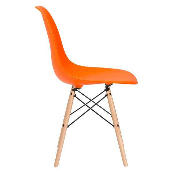 ceremony wood chair orange 3