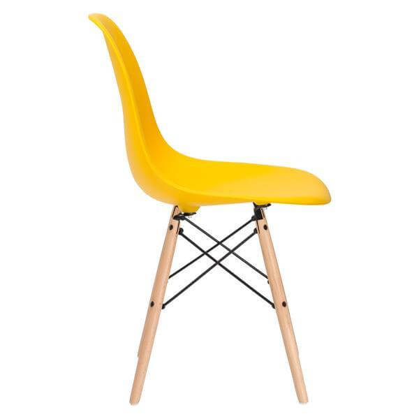 ceremony wood chair yellow 3