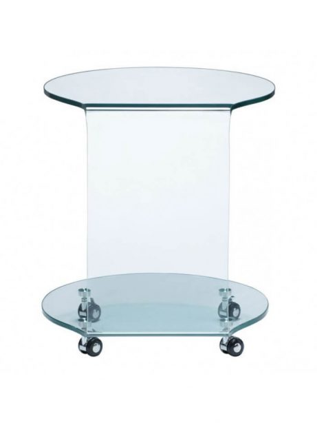 glass rolling accent table 461x614