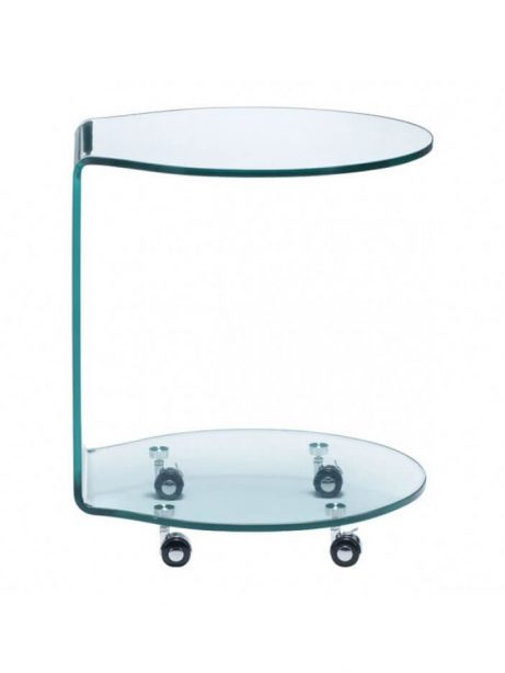 glass rolling cart 461x614