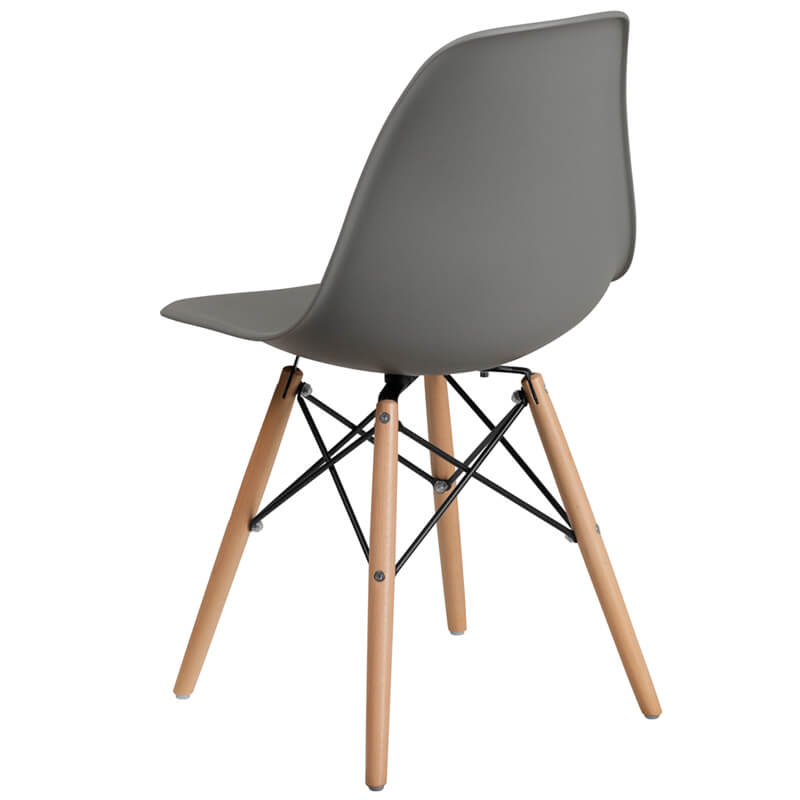 gray eames chair