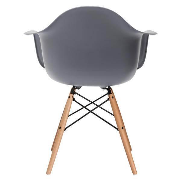 grey eames chair