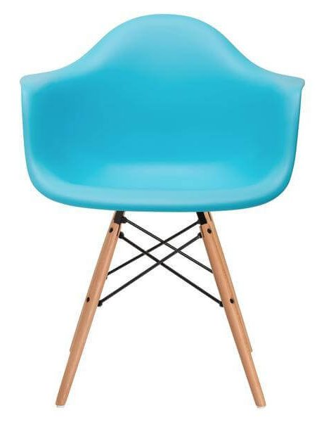 modern blue dining chair 461x600