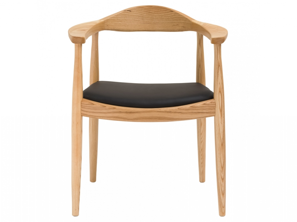 natural wood mid century 1919 chair