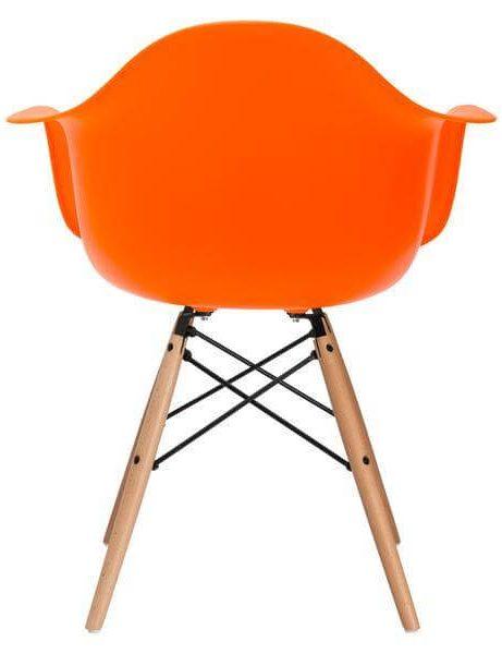 orange eames chair 461x600