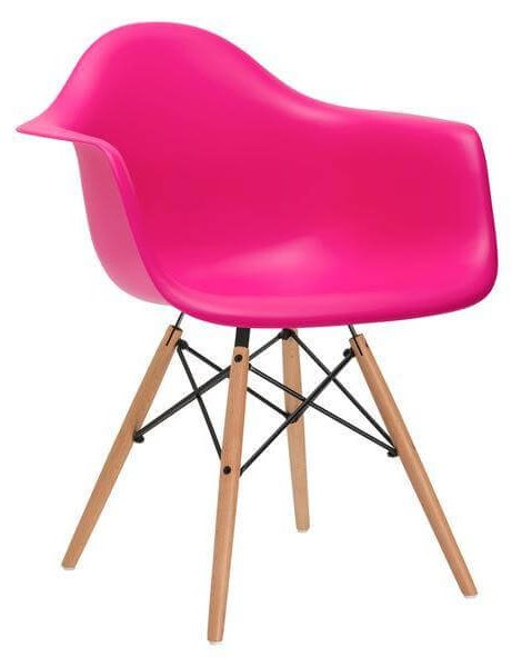 pink armchair mid century 461x600