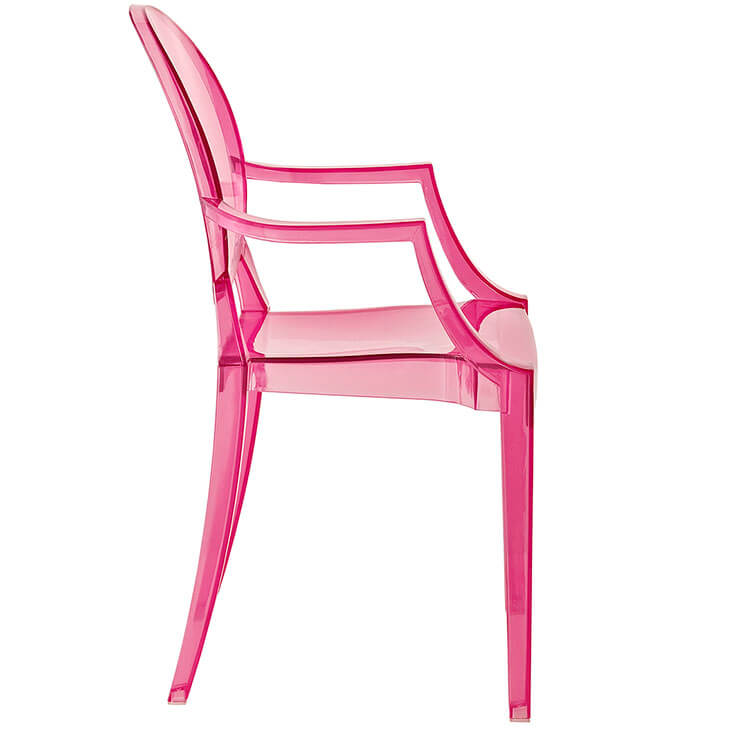 pink kids throne chair 2