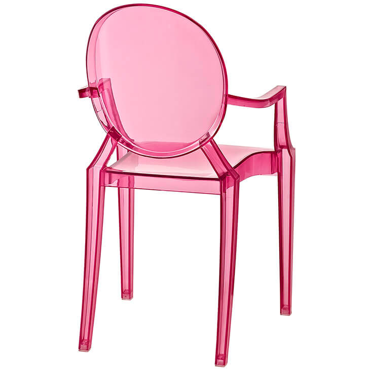 pink kids throne chair 3