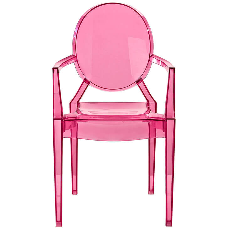 pink kids throne chair 4