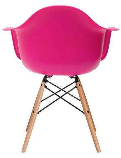 pink modern armchair 461x600