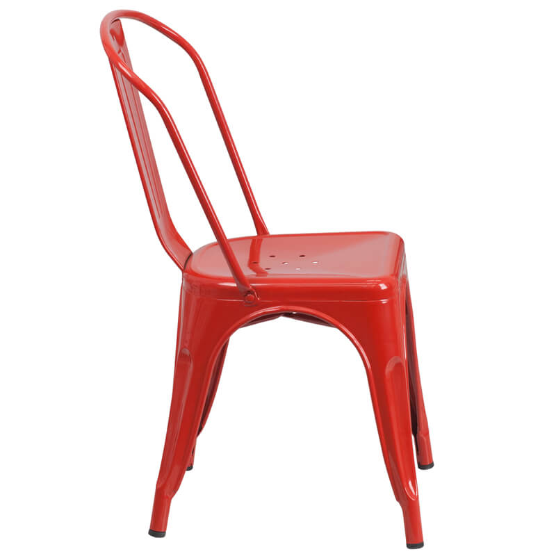red tonic chair
