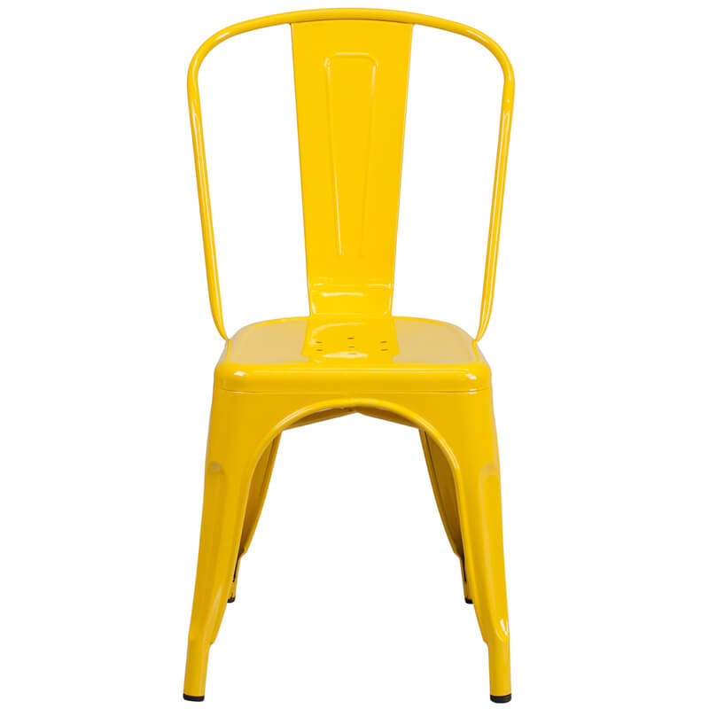restaurant chair yellow