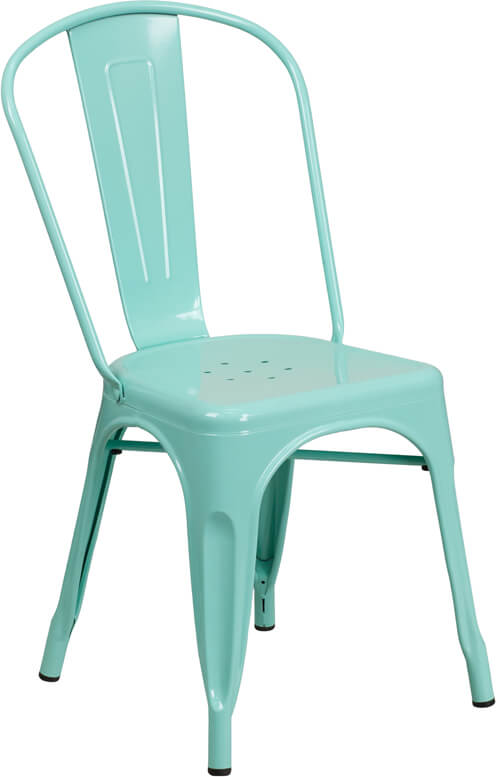 tonic metal chair mint green
