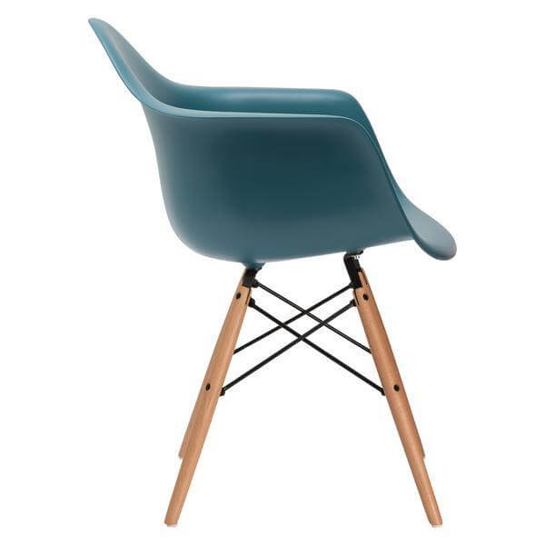 turquoise ceremony wood chair 2