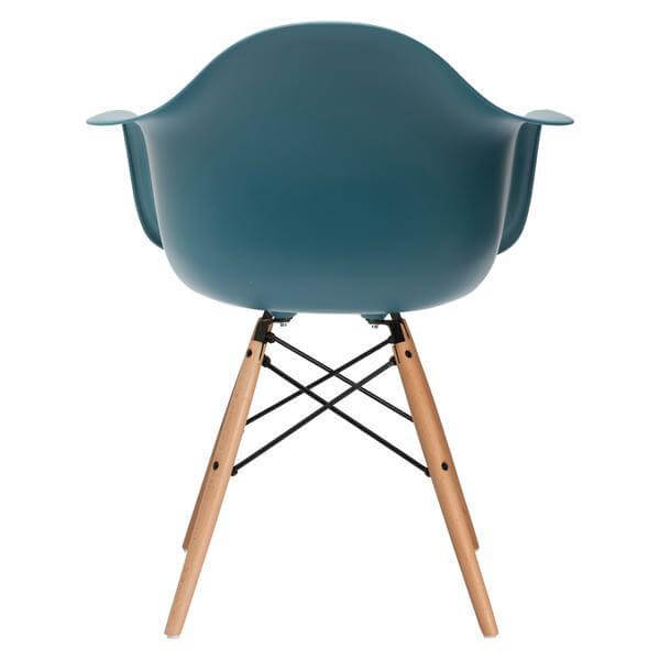 turquoise ceremony wood chair
