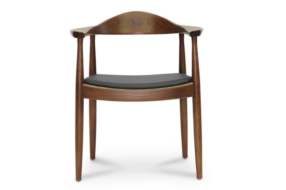 walnut wood 1919 mid century chair 3