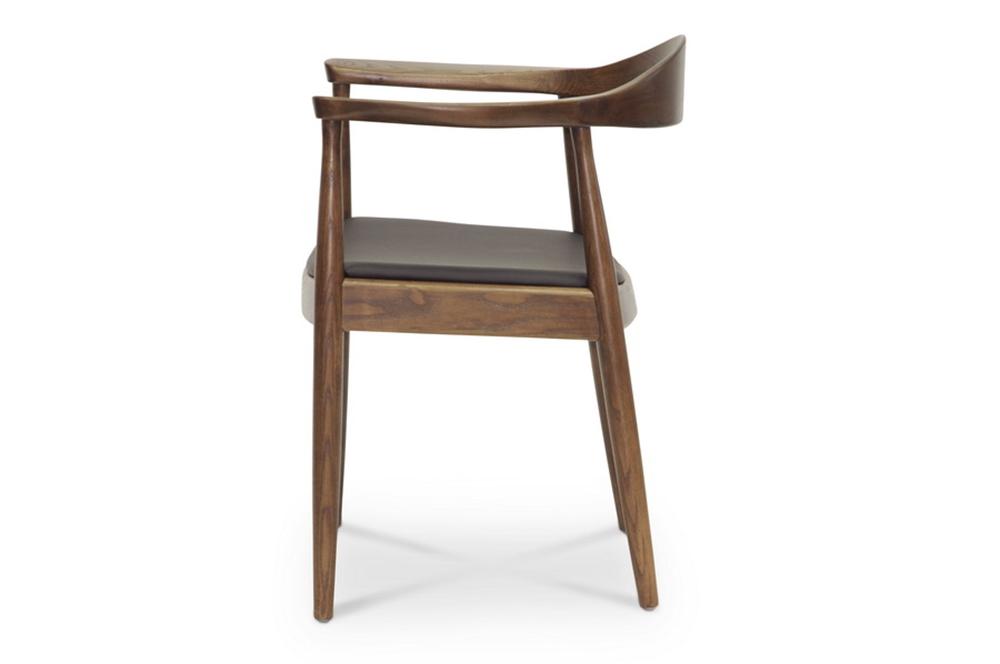 walnut wood 1919 mid century chair 4