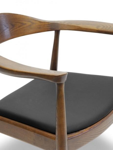 walnut wood 1919 mid century chair 461x614