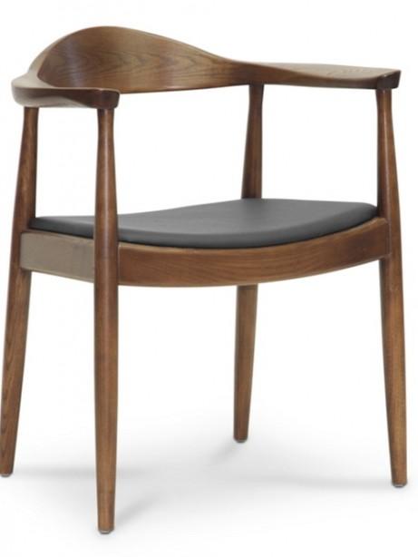 walnut wood 1919 mid century chair 5 461x614