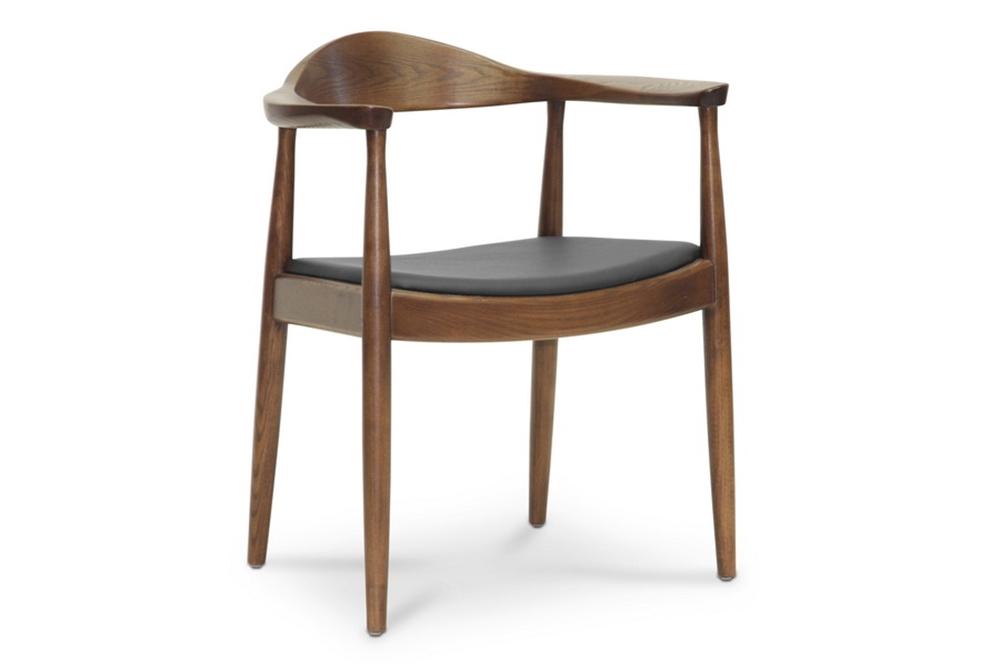 walnut wood 1919 mid century chair 5