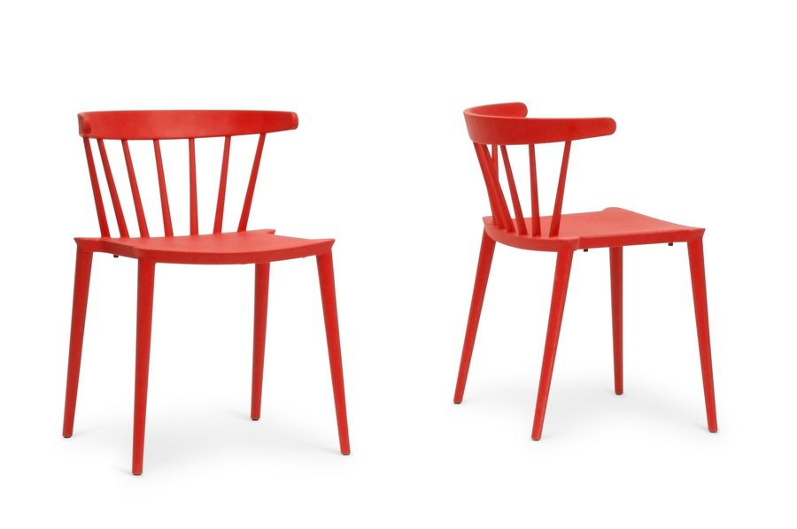 Red Doral Chair 1